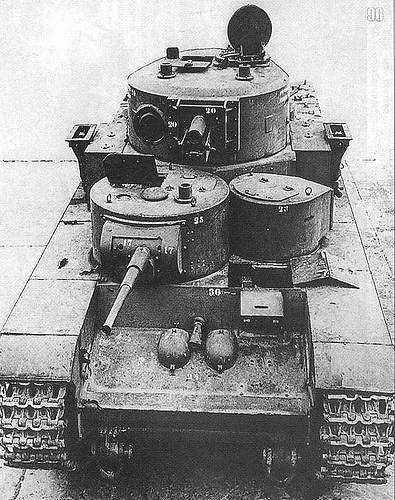 Т-35 Передній