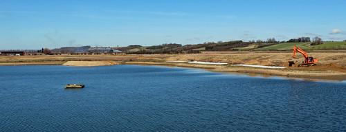 Main Lake (Habitat creation work in progress)