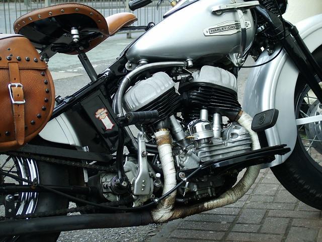 1947 H-D ML Flathead engine | Flickr - Photo Sharing!