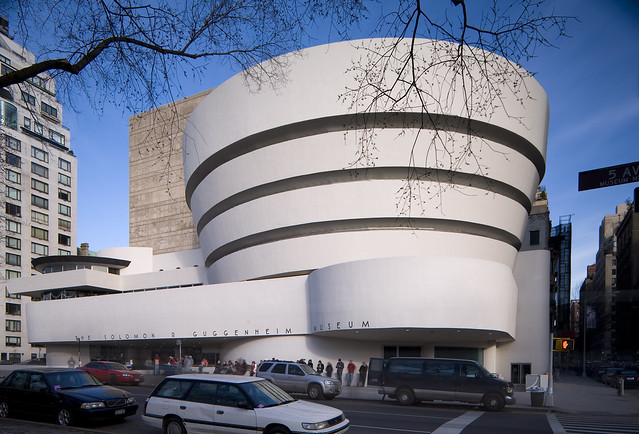 Frank Lloyd Wright, Solomon R. Guggenheim Museum, New York, 1956-59