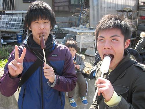 Japanese boys @ Hounen Matsuri!