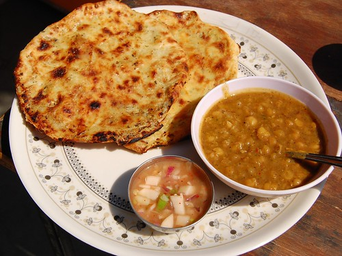 Amritsari kulche in rohini eating out in delhi for Amritsari cuisine