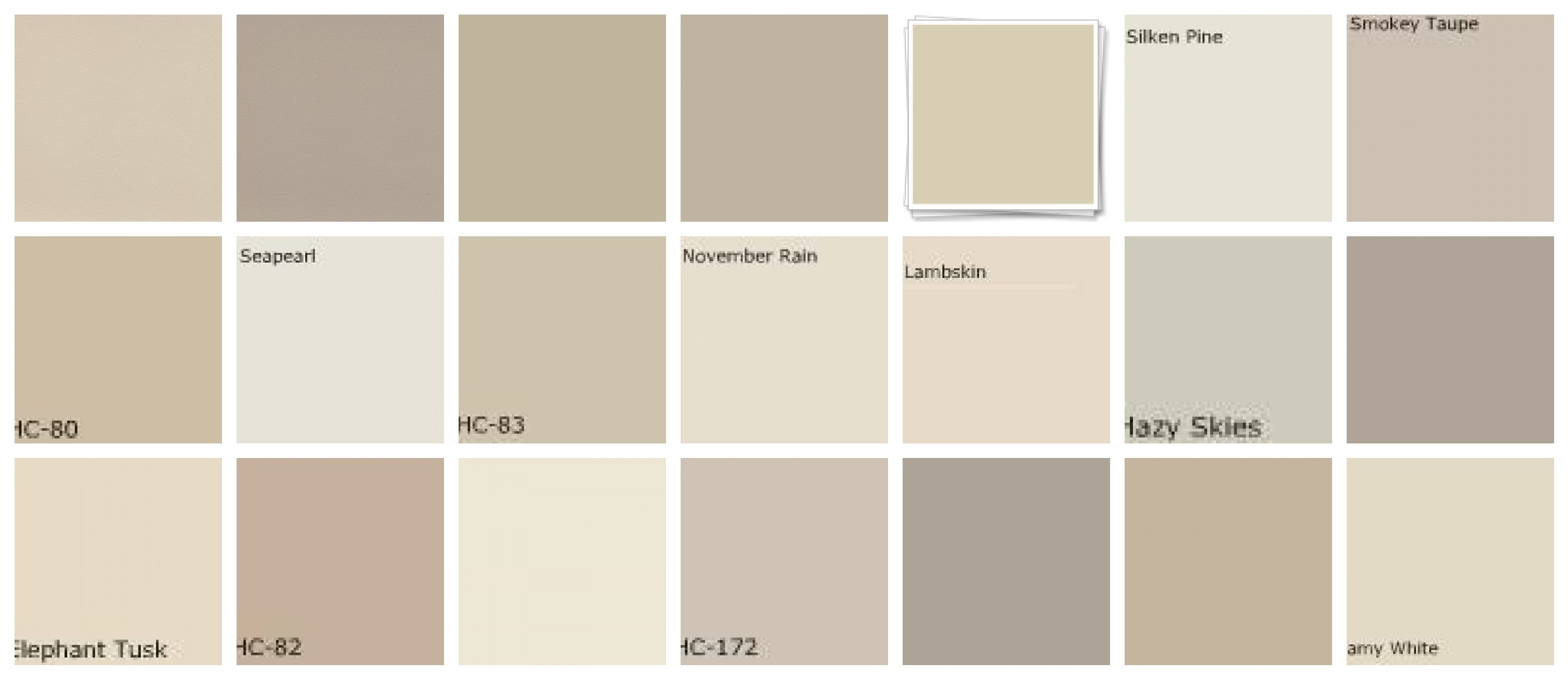 Benjamin Moore Neutral Paint Colors 2260 x 980
