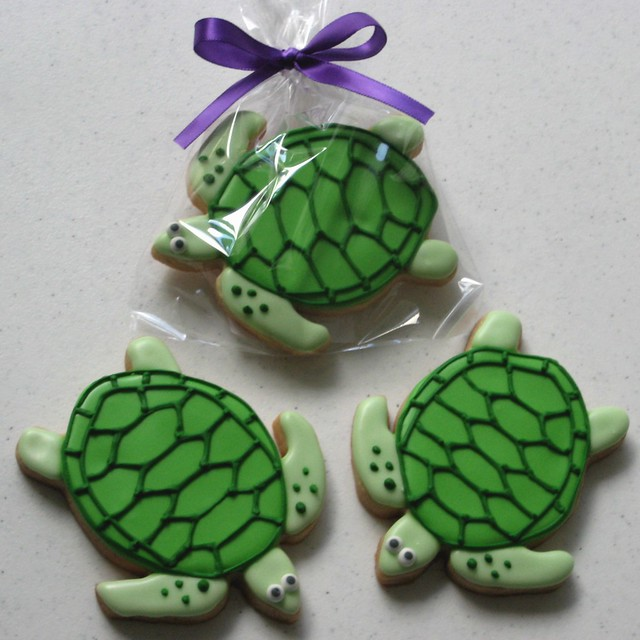 Turtles Cookies | Sea Turtle Cookies | By: Alis Sweet Treats (Andrea ...