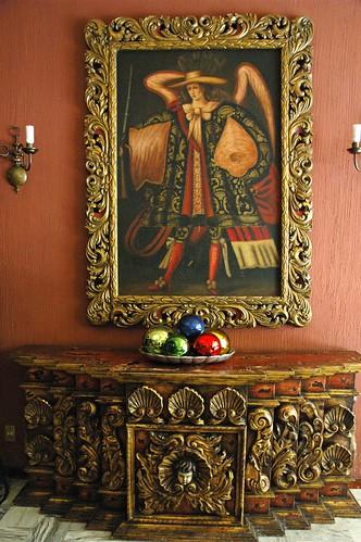 Saint Michael the Archangel, Hotel De Mendoza, Guadalajara, Jalisco, Mexico by Wonderlane