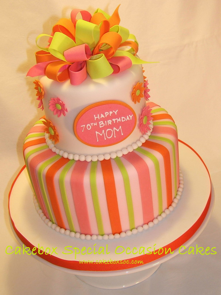 Mom 70th Birthday