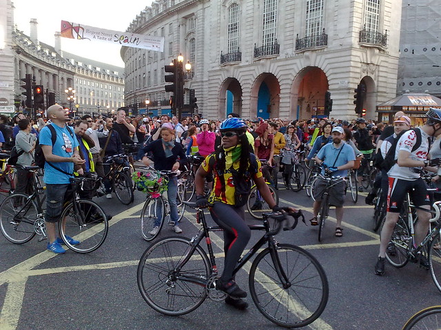 Critical Mass London 5/09