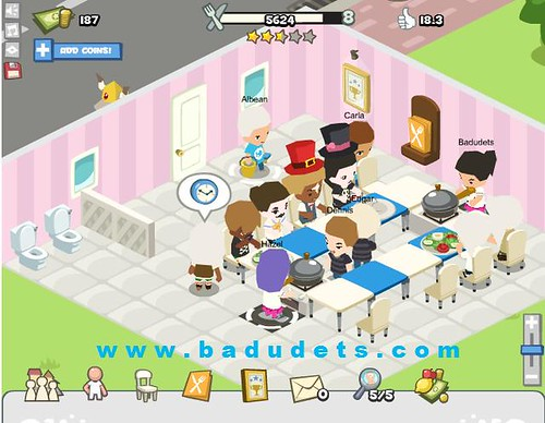 Recommended layouts in restaurant city badudets