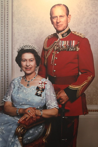 The Queen and her husband
