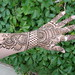 Arabic style bridal henna on hand by HennaMe