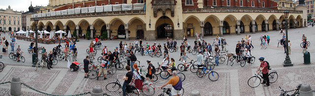 Krakow Critical Mass, June 2009