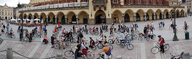 Krakow Critical Mass, June 2009