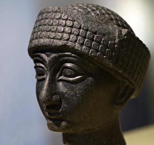 Gudea of Lagash, RMO Leiden, 2100 BC, Diorite,  Lagash Southern IRAQ