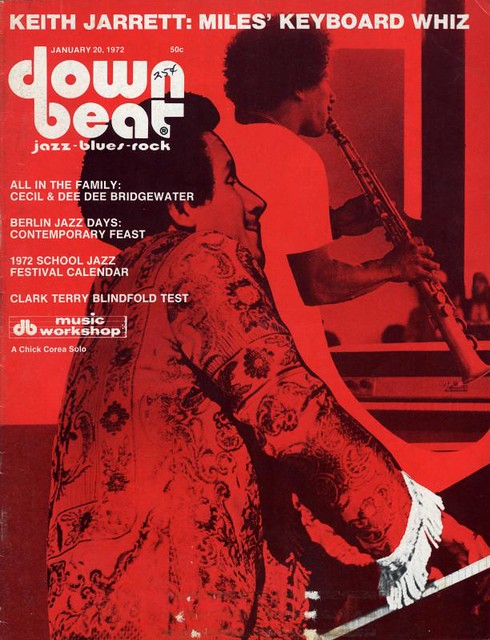 January 1972 Down Beat Magazine