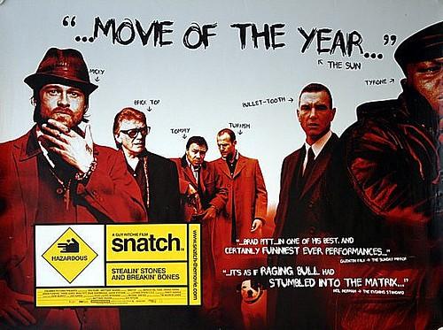 Movie Posters 2000: Snatch 2000 Original UK Quad Movie Poster