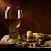 Still Life Roemer with nuts and lemon (after Pieter Claesz) by kevsyd
