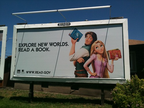 Explore New Worlds - Read a Book