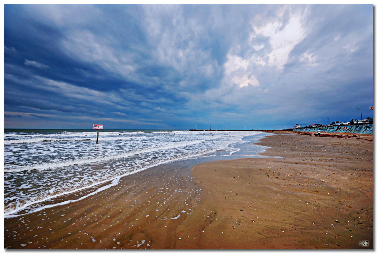on black  galveston beach i by joe y jiang  large