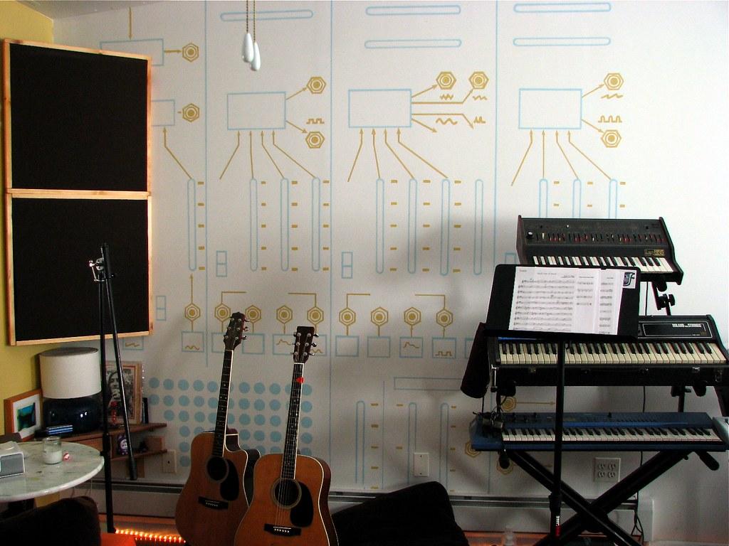 Synth Wallpaper Oliverchesler Flickr