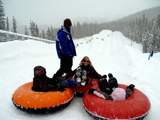 Rahills tubing on Keystone Resort