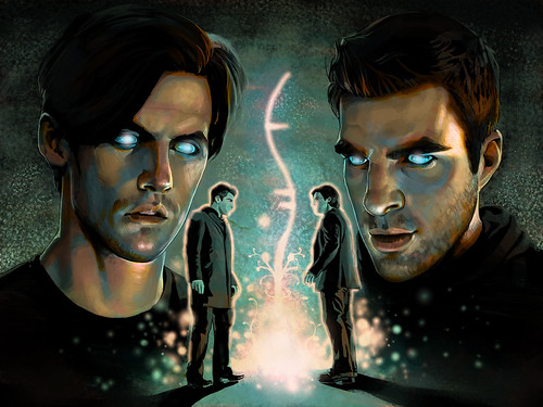 Heroes - Sylar & Peter