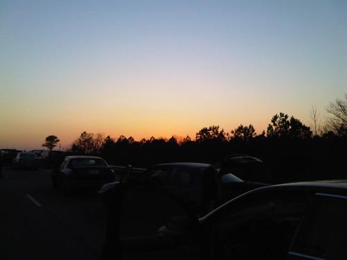 sunset zombieland