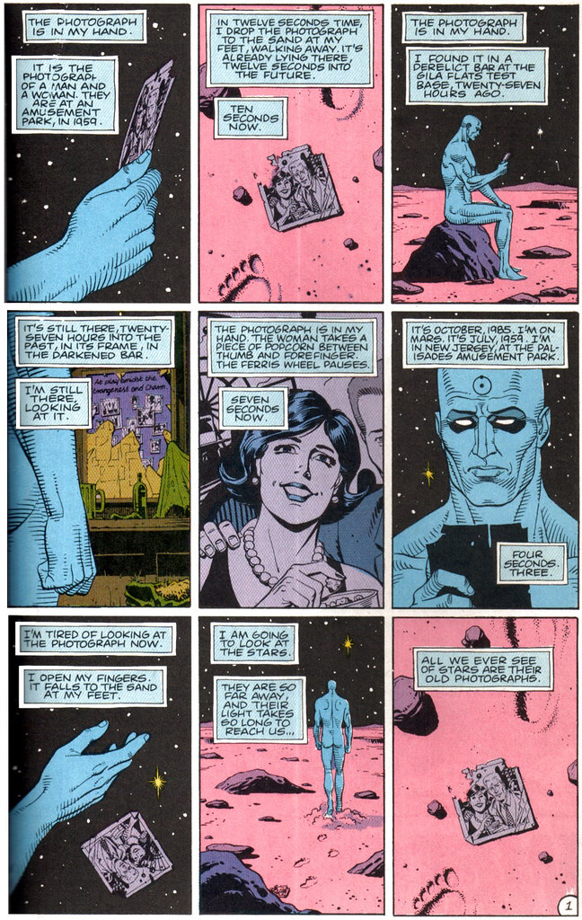 Dave Gibbons Watchmen Room Designs