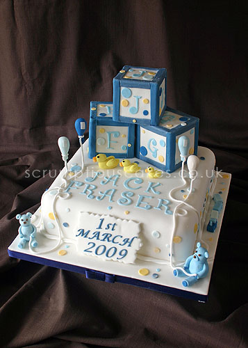 Christening Cake (467) - Building Blocks | Flickr - Photo Sharing!