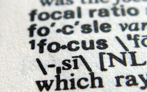 dictionary focus crop