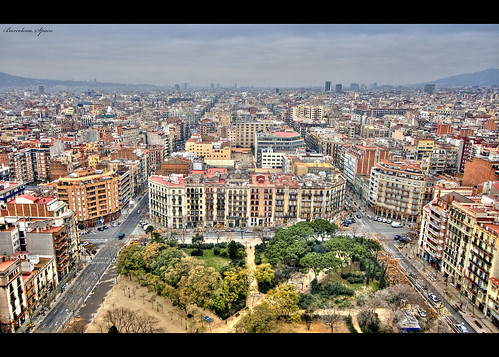 View of Barcelona...