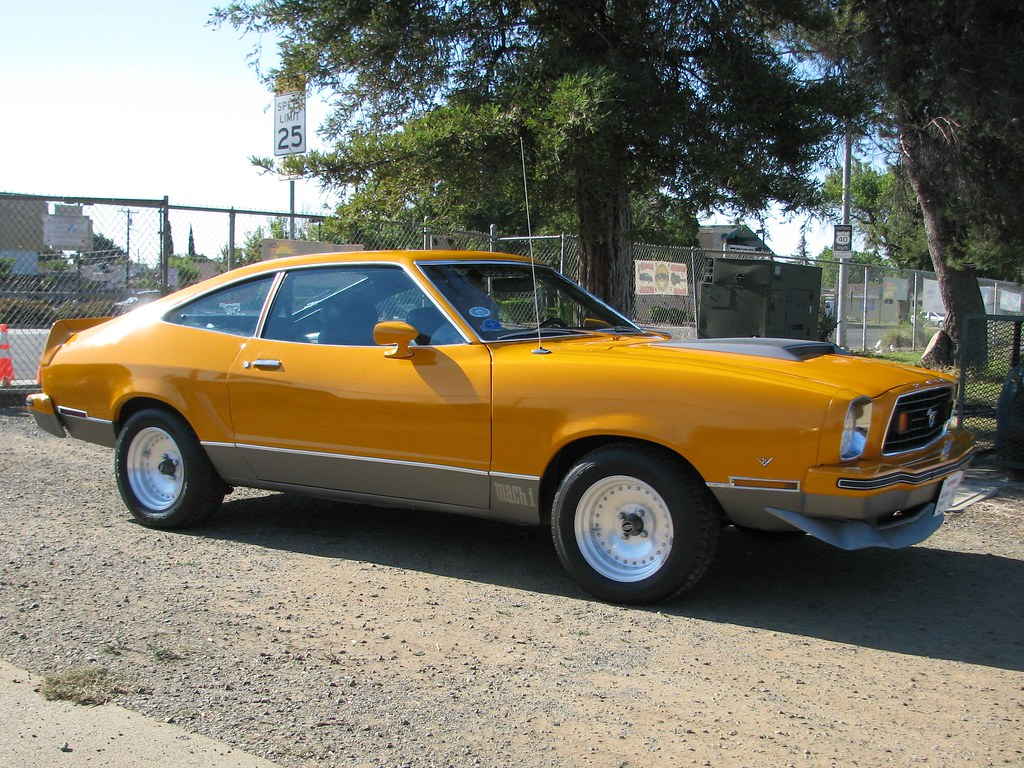 All Types mustang 2 pictures : 1978 Ford Mustang II Mach 1 Fastback (Custom) '694P' 2 - a photo ...