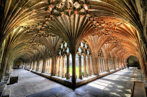 Canterbury Cathedral Cloister