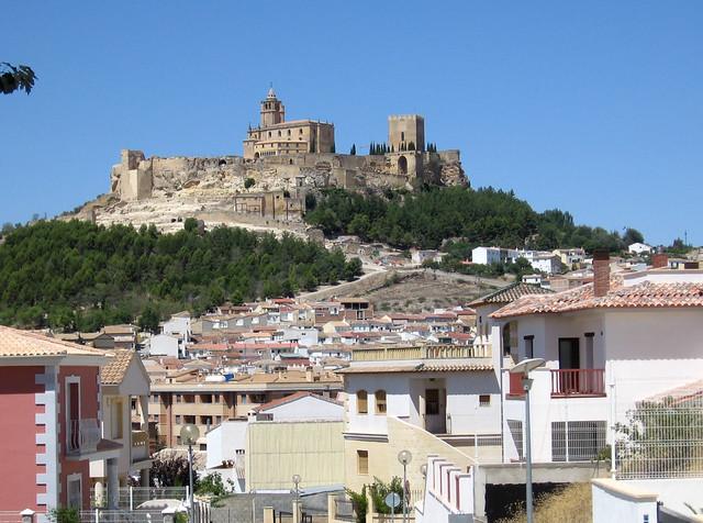 Alcal la real jaen avec la forteresse de la mota - Antonio daza alcala la real ...