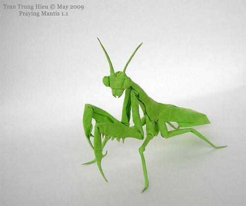 how to fold an origami praying mantis origami autos post