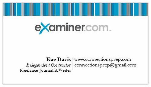 Kae Davis Examiner.com Writer