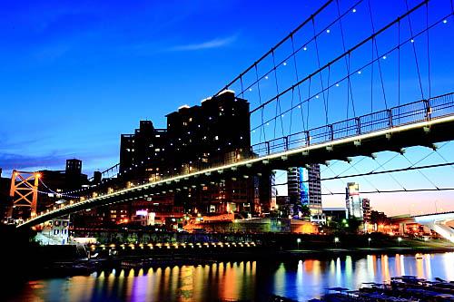 185I碧潭吊橋-夜景