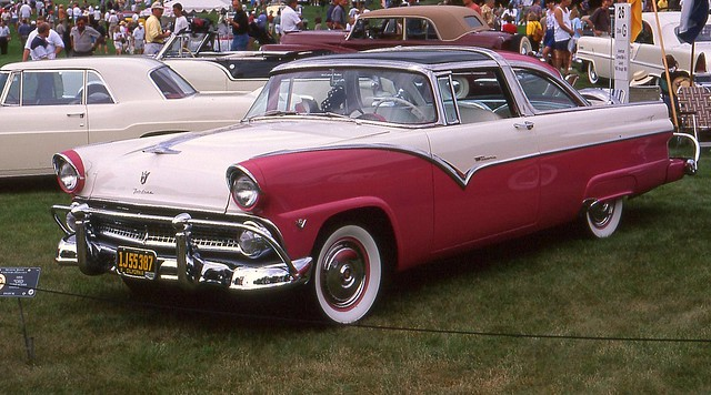1955 ford fairlane crown victoria skyliner 2 door flickr for 1955 ford fairlane 4 door