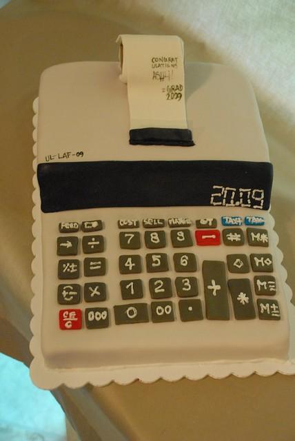 Accounting major cake flickr photo sharing for Accounting graduation cap decoration