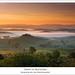 Dawn at Belvedere, Tuscany by Salva del Saz