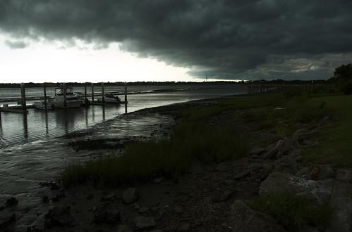 storm water river florida staugustine intercoastalwaterway saintaugustine