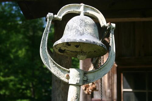 old cabin bell shack