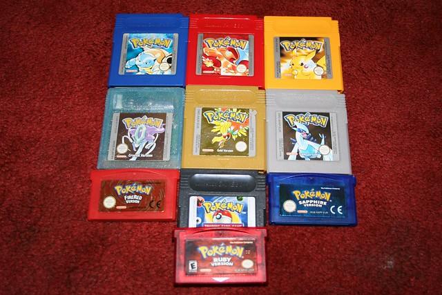 Pokemon Cartridges | Flickr - Photo Sharing!