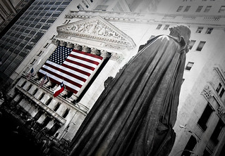 George Washington at the New York Stock Exchange