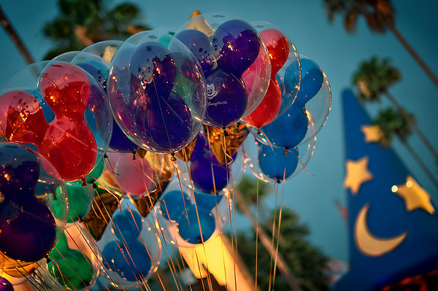 Daily Disney - Hollywood Studios Balloons at Dusk (Explored)
