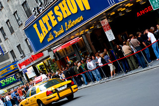 The Line at the Late Show with David Letterman