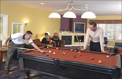 Carriage Ridge Resort Pool Table in Barrie, Ontario