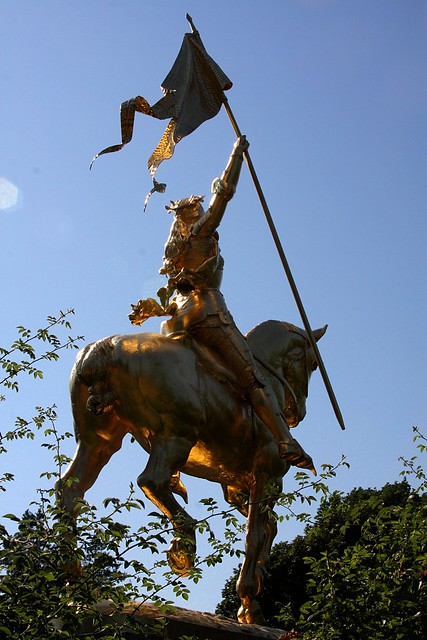 Joan of arc statue portland or explore brx0 39 s photos on for Garden statues portland oregon