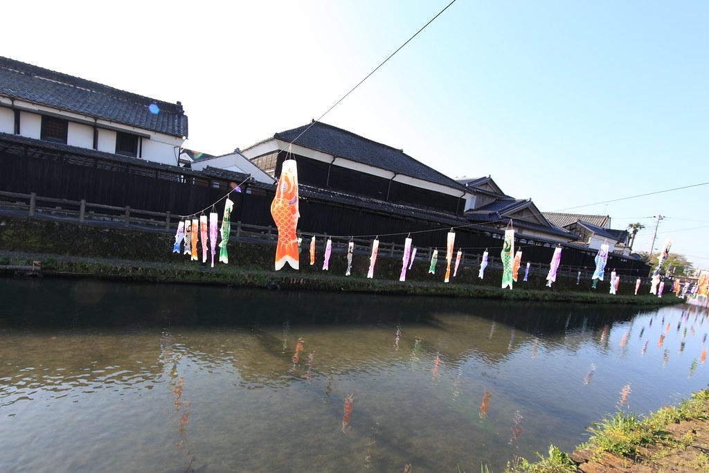 Colorful carp banners / 鯉幟(こいのぼり)