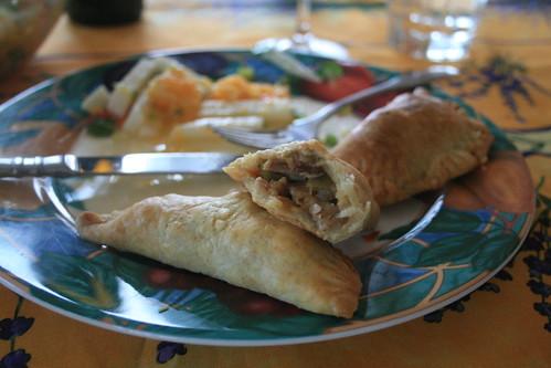 Inside the Empanadas