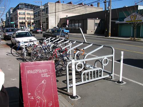 University of Seattle - On Street Bike Parking